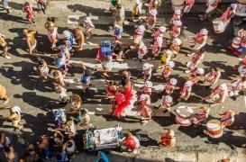 Au Brésil, des patients en psychiatrie au carnaval de Rio