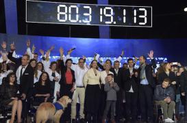 Téléthon : les promesses de dons dépassent les 80 millions d'euros