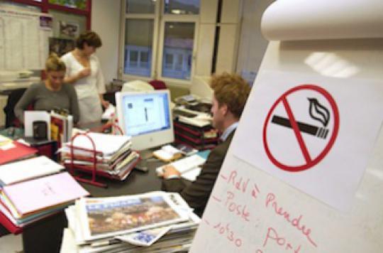 Tabagisme passif : une salariée obtient 30 000 euros de réparation
