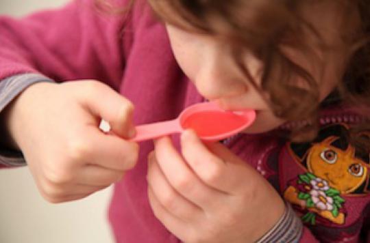 Encore trop d'enfants traités avec de la codéine