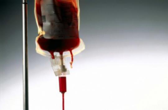 Une transfusion de sang jeune limite le vieillissement
