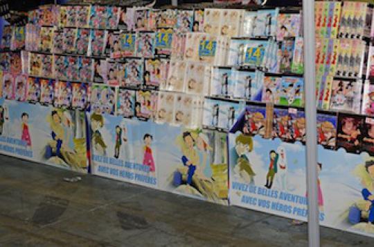 Des Mangas pour inciter les jeunes à manger sain