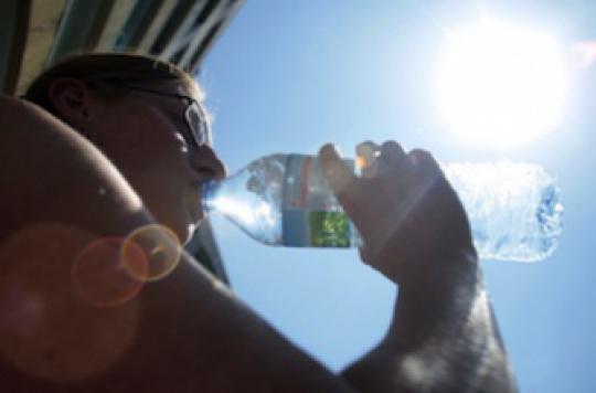 Coups de chaleur et déshydratations sont en hausse