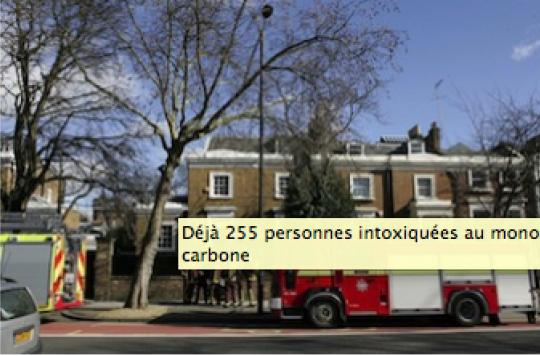 Monoxyde de carbone : 5 morts par intoxication