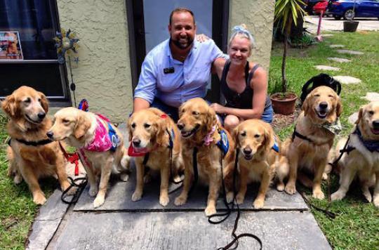 Tuerie d'Orlando : des chiens pour apaiser le traumatisme des victimes