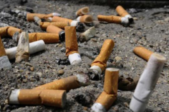 Tabac : des parlementaires veulent créer une taxe mégot