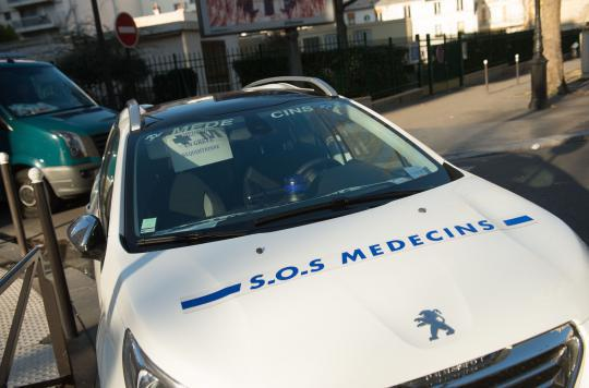 SOS Médecins : une grève massivement suivie