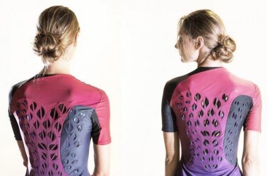 Technologie : un t-shirt pour ventiler le corps