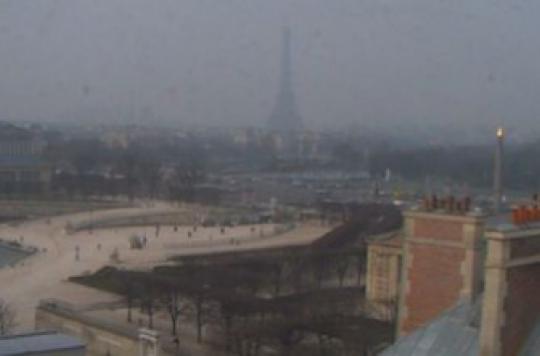 Pollution : l'air irrespirable dans le Nord et en Ile-de-France