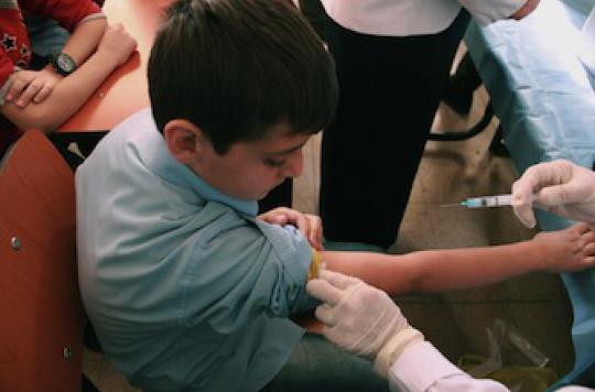 La polio aux portes de l'Europe inquiète les Etats de l'Union