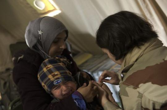 Epidémie de poliomyélite en Syrie