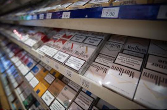 Quatre fabricants de tabac accusés d'entente illicite sur les prix