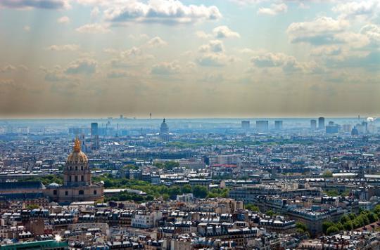 Pollution : 1,6 million de Franciliens exposés en 2015