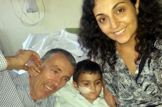 Ashya King va bénéficier d'une protonthérapie à Prague
