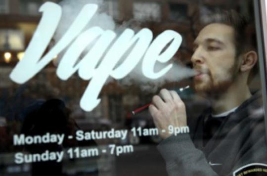 Cigarette électronique : les \