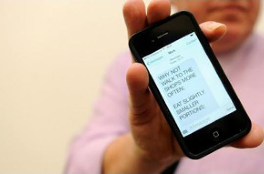 Quand la ville envoie des SMS pour lutter contre l'obésité