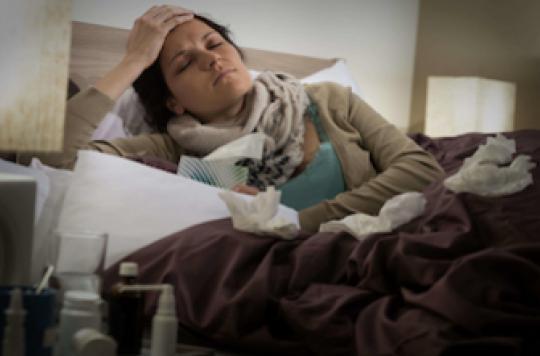 Une personne grippée sur 4 n'a aucun symptôme