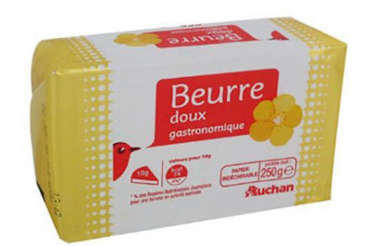 rappel de plaquettes de beurre contenant des morceaux de c ble. Black Bedroom Furniture Sets. Home Design Ideas