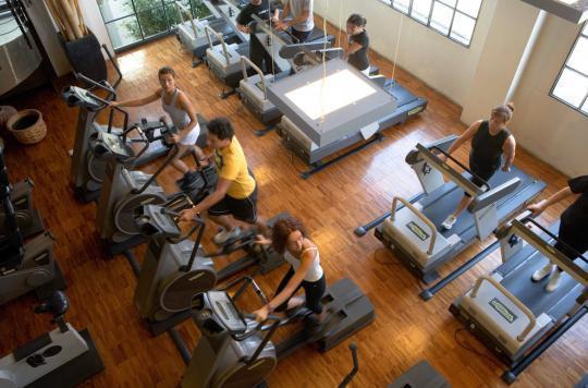 L'air intérieur des salles de gym est pollué