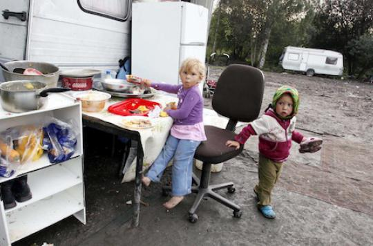 La santé des Roms en danger