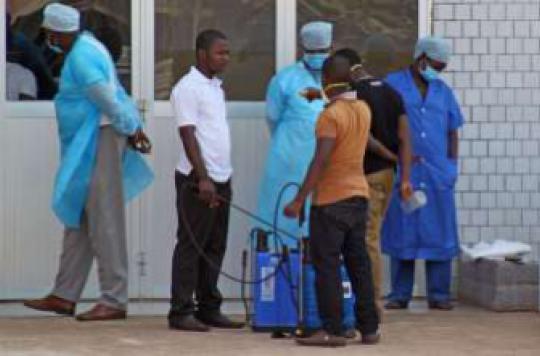 L'avertissement de MSF : l'épidémie d'Ebola est \