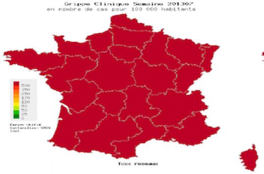 La grippe se stabilise en France