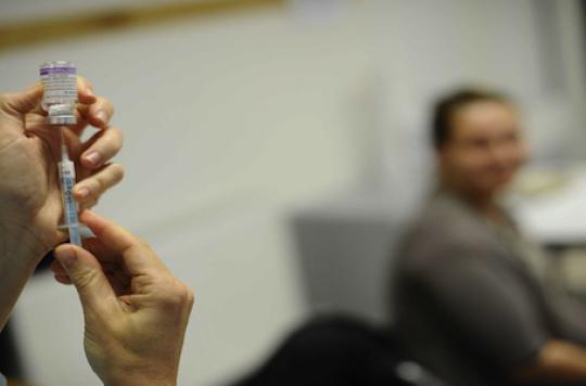 L\'épidémie de grippe s\'est installée en France