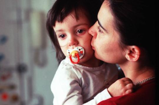 Sucer la tétine du bébé renforce son système immunitaire