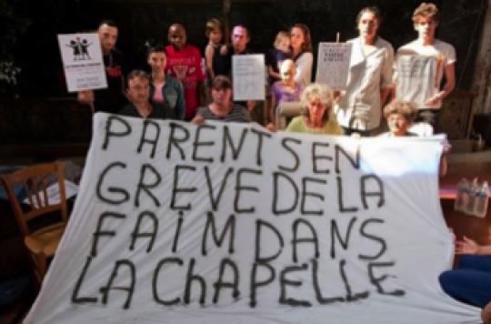 Des parents en grève de la faim pour sauver un service d'oncologie