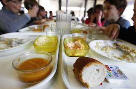 Alimentation : mieux vaut la cantine scolaire que le repas fait maison