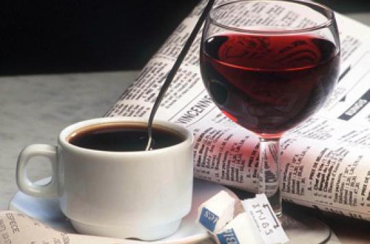 Le café peut annuler les méfaits de l'alcool