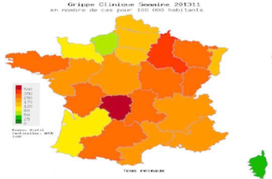 La grippe 2012-2013 tue moins