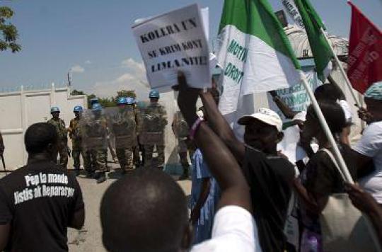 Haïti : les victimes de l'épidémie de choléra portent plainte contre l'ONU