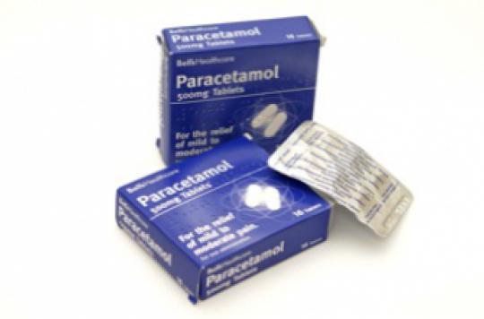 Le paracétamol n'est pas efficace pour soulager le mal de dos