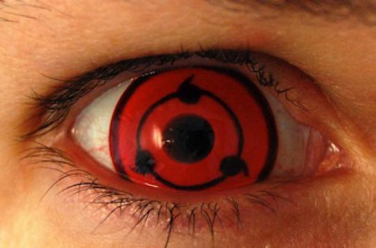 Les lentilles de contact colorées inquiètent les experts