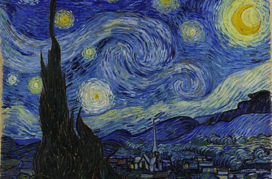 Vision : le ciel nocturne n'est pas bleu mais noir !