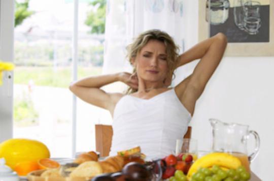 Le petit déjeuner n'aide pas à perdre du poids