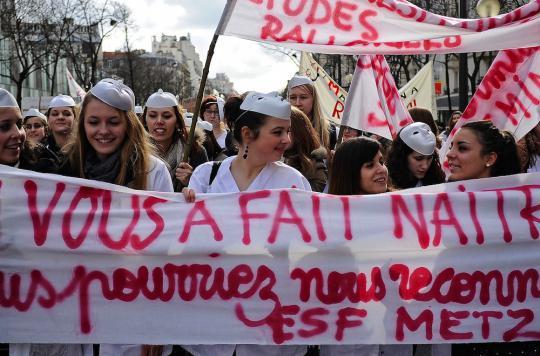 Sages-femmes : une longue grève et de maigres résultats
