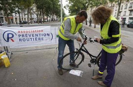 Accidents de la route : les cyclistes se mettent en danger