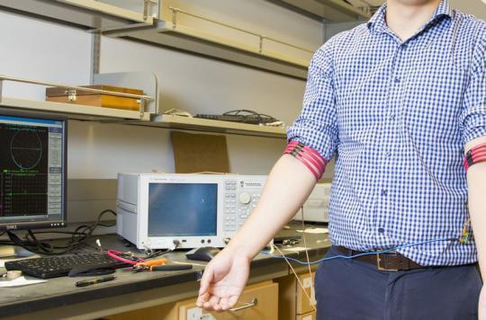 Le corps humain pour remplacer le Bluetooth