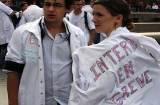 Projet de loi santé : les internes dans la rue le 15 mars