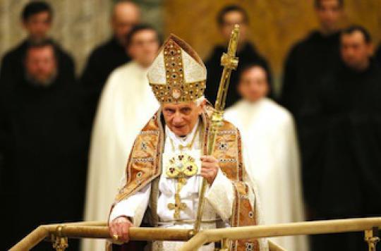 Le pape rattrapé par l\'âge