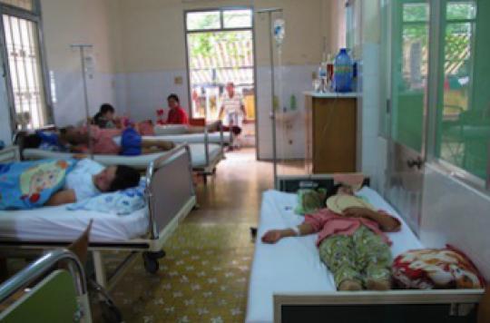 Rougeole: le Vietnam fait face à une épidémie meurtrière