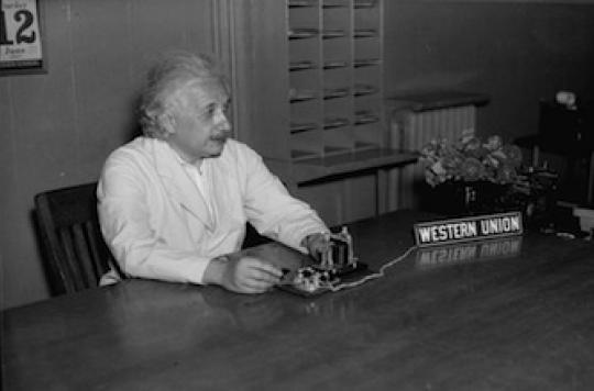Albert Einstein avait un cerveau parfaitement connecté