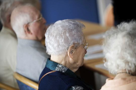 3 résidents sur 4 décèdent dans leur maison de retraite
