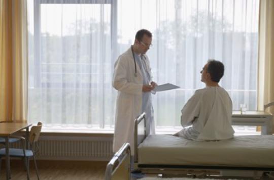 Première en France : aller au bloc opératoire à pied