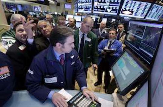 L'effondrement des marchés financiers peut rendre fou