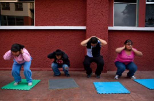 L'obésité infantile coûte 14 000€ par enfant