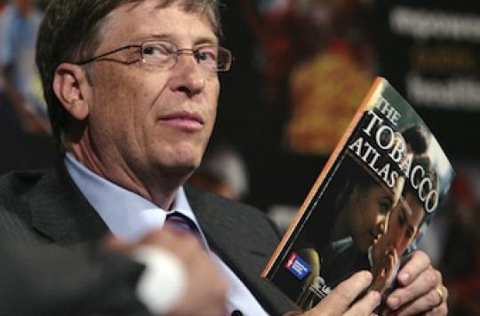 Bill Gates et Michael Bloomberg en guerre contre l'industrie du tabac
