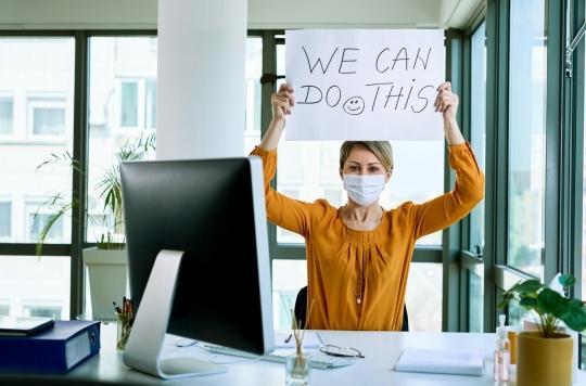 Le port du masque induit-il des changements de comportements au travail ?